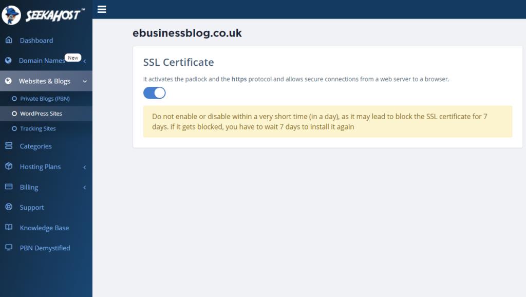 Free-SSL-certificate-for-blog-domain