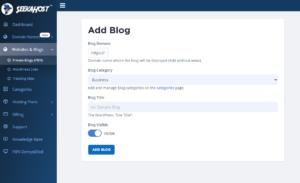 add-a-domain-to-create-a-blog-at-SeekaPanel