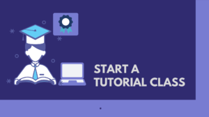 start a tutorial class