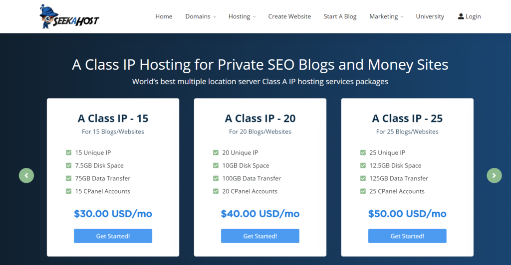 A-Class-IP-Hosting-plans-up-to-25-IPs