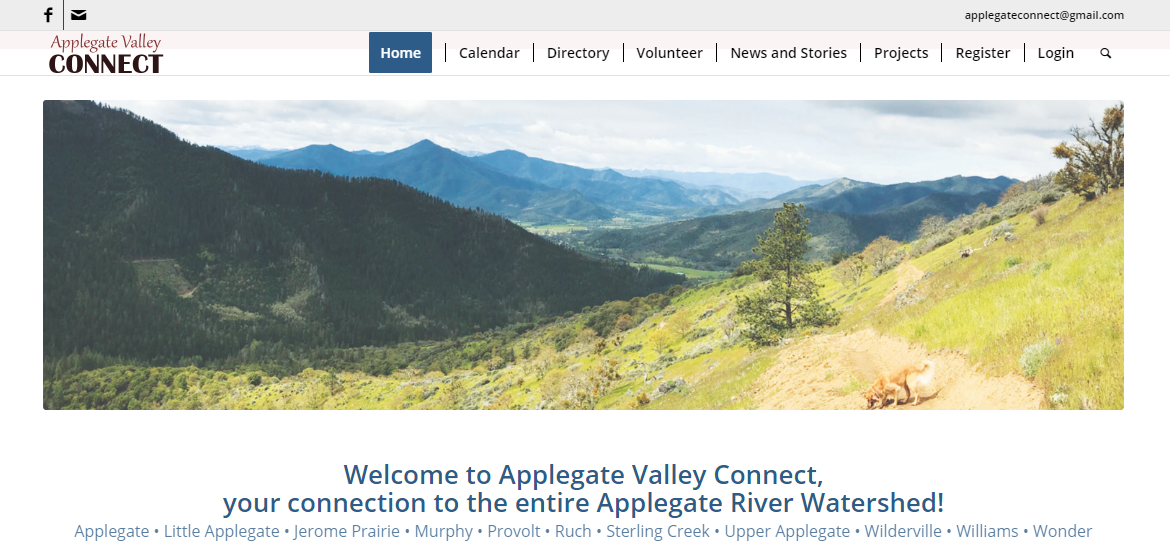 Applegate valley connect