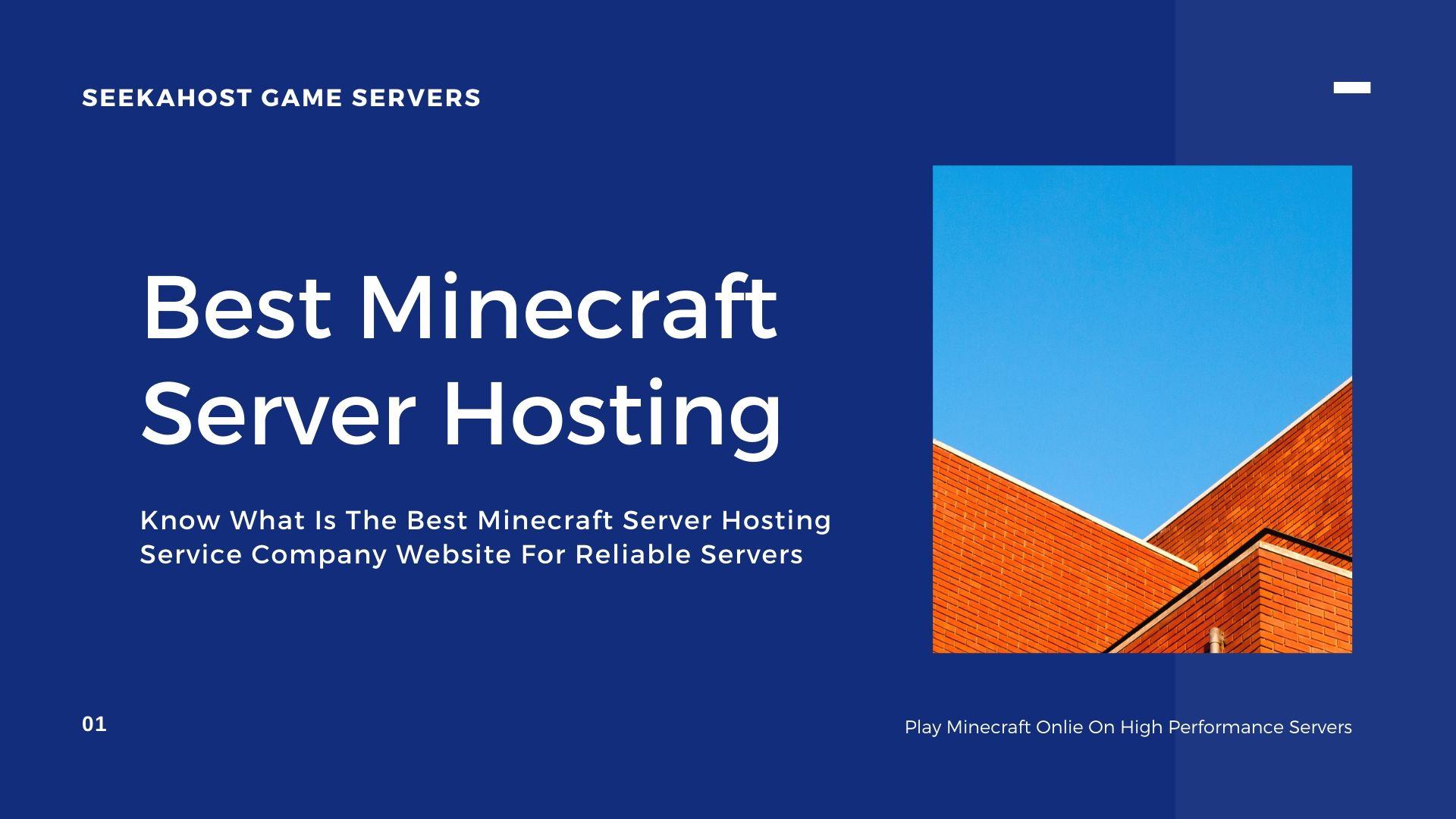 Best-Minecraft-Server-Hosting