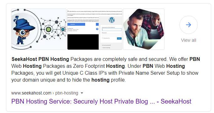 SeekaHost-PBN-Hosting