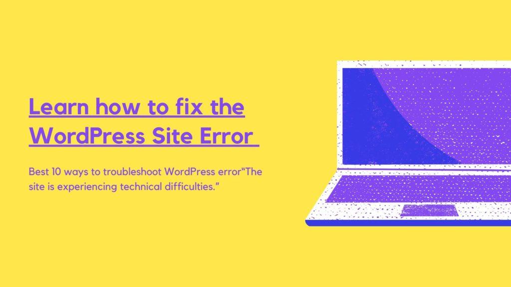 Tips-fix-WordPress-error