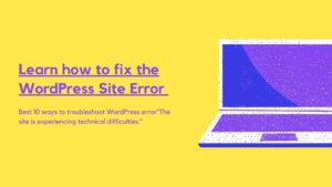 Tips-fix-WordPress-error