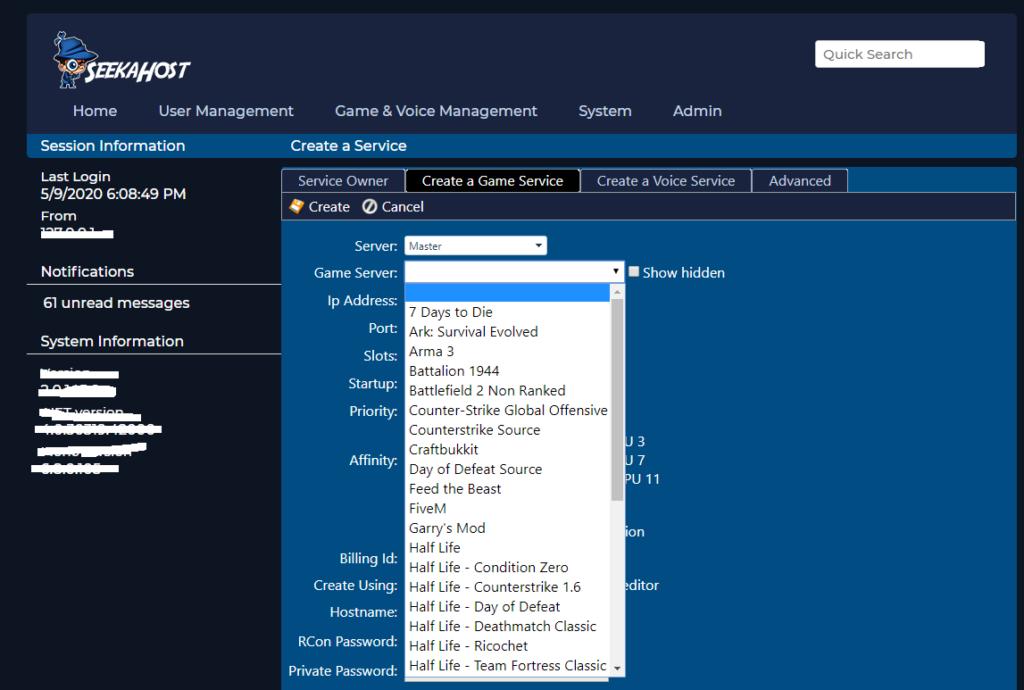 game-server-hosting-panel