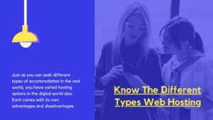 know-what-are-the-web-hosting-types