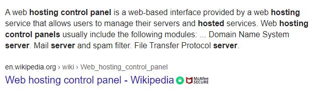 Host-Control-Panel