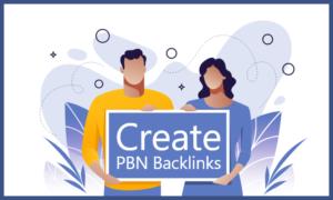 How to create PBN Backlinks