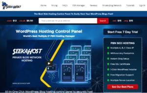 SeekaPanel-PBN-Hosting-Control-Panel