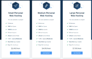 Personal Blog Hosting Packages