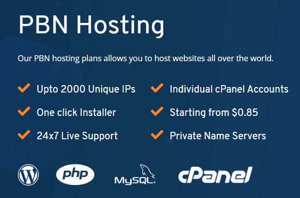 Private Blog Network Hosting