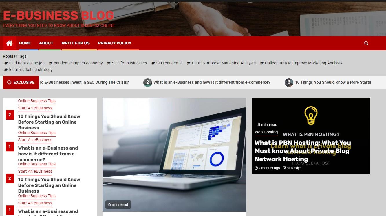 e-Business-Blog