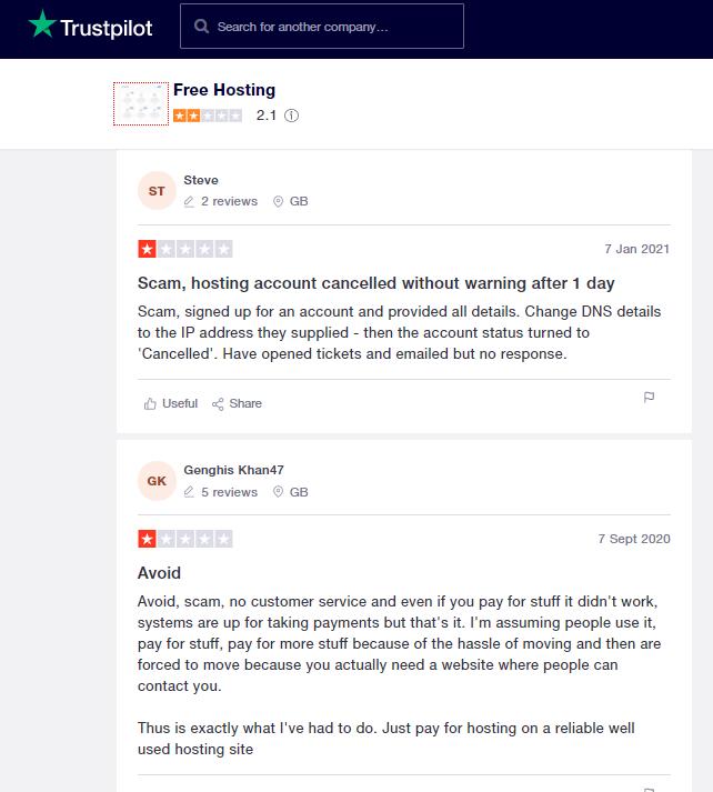 free-hosting-com-bad-reviews